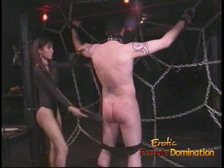 Extremely potrebni stallion likes being tied up in whipped