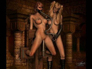 Clássicos erótico bondage artwork
