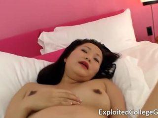 妊娠した アジアの ティーン クリームパイ