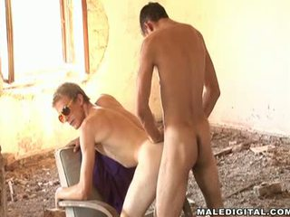 Hot Athletic Guys Hang Out In Ruins And Suck Cock And Fuck