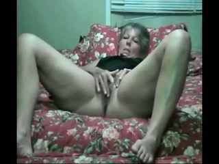 Hot 55 Yr Old Giant Dildo Play, Free M...