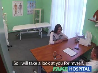 Fake лікарня doctors magic пеніс produces vocal оргазм