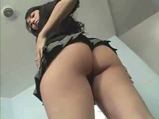 Sexy á châu thiếu niên leilani đồ chơi với cô ấy chuf