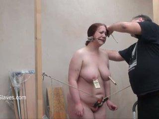 Brutaali bbw bdsm ja tool tortures of rasva slaveslut