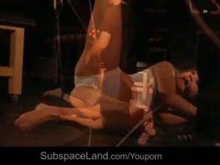 좋은 속박 노예 입 더러운 의 정액 에 속박, 지배, 사디즘, 마조히즘 sub unbearable 씨발 비디오