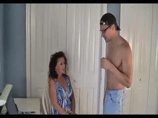 sexe, maman, fils
