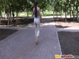 Park Non Professional Panties Wetting