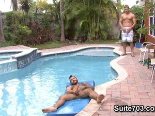 homosexuál, obrovský černý péro gay, gay black nude