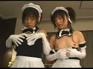japānas, grupu sekss, meitene