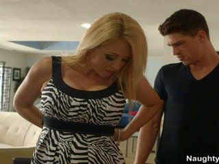 Massive Rack Milf Charlee Chase Ditches Date To Penetrate Her Sons Freind Instead