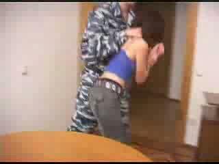 جيش boys وحشي خشن اللعنة ل female prisoner فيديو