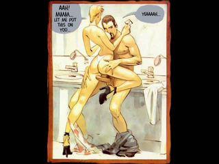 Erotický hardcore sex komické