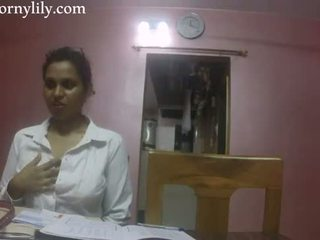 Indian sex invatatoare excitat lily dragoste lesson