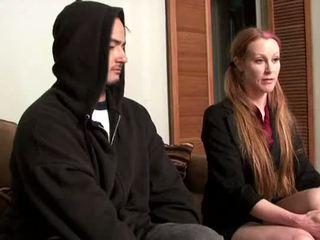 Darby daniels-parole subay gets knocked dışarı tarafından parolee