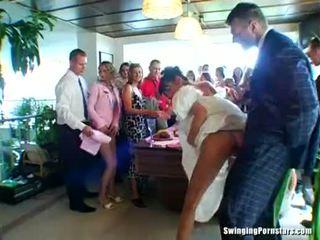 Casamento whores are a foder em público