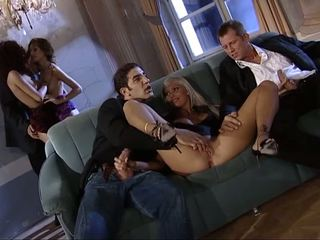 Glamour orgy with hot models