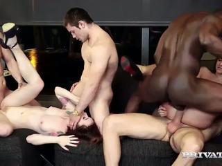 cumshots, group sex