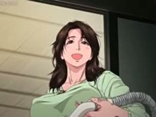 Big Boobed Anime Milf Gets Rubbed
