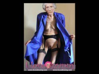 Ilovegranny amateur vieux mamies montrer nu sexy corps