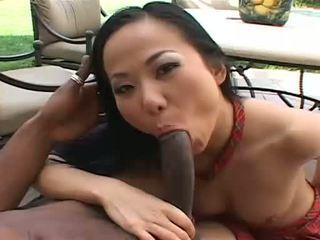 זין גדול, בין גזעי, סרטי סקס אסייתיים