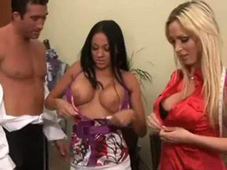 big boobs, 3some, lielas krūtis