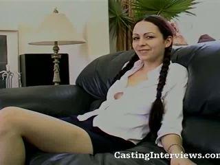 18 yo Alexia is Cast For Sex Scene Video