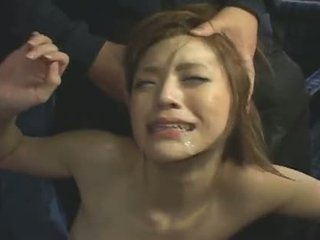 japanilainen, kasvohoito, gangbang