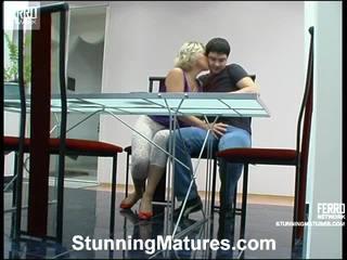 Margaret And Adam Leggy Milf In Activity