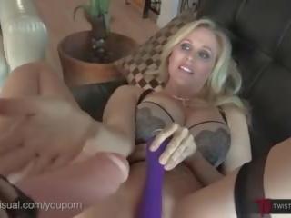 Julia Ann Ass Stuffed and Fucked, Lesbian Pov Style