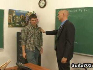 Гей вчитель troy трахання студент william жорсткий