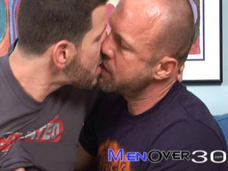 Aged Muscle Guys Clay Towers And Chad Brock Fucking