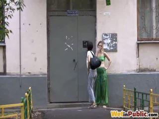offentlig sex, pissing, tisset på
