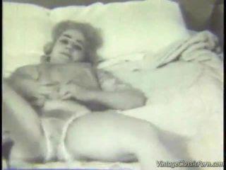 Retro stanza da letto striptease