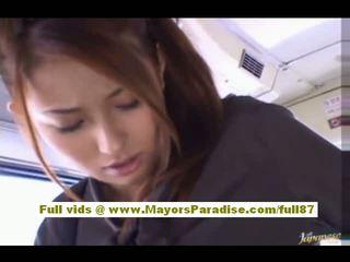 Nao yoshizaki sexy á châu thiếu niên trên các xe buýt